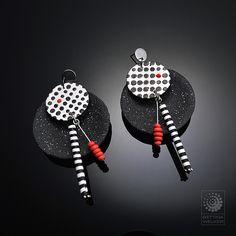 Earrings | Bettina Welker • Polymer Artist & Teacher | Flickr
