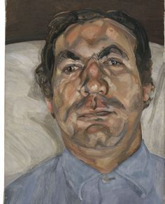 Lucian Freud, Head of a Man