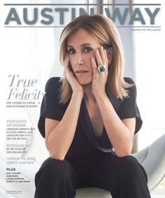 Robert Behar / Austin Way featuring Felicity Huffman on the cover / by Frederic Auerbach Kendall, Felicity Huffman, American Crime, Just Style, Successful Women, Powerful Women, Cute Hairstyles, Well Dressed, My Hair