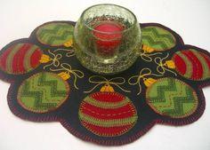 Ornaments Candle Mat