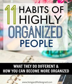 I definitely need this to get our house and my life more organized! Having kids, being organized is a requirement. What can you change or learn to be more organized, less stressed and happier?