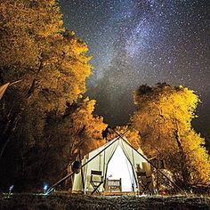 Camping doesn't have to mean waking with a stiff neck in a damp sleeping bag. Yellowstone Under Canvas is a safari-like experience at a fraction of the...