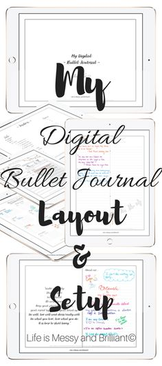 Digital Bullet Journaling – something to try when that new iPad finally arrives…