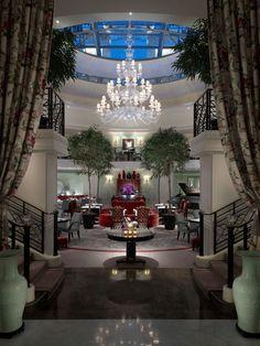 Restaurant La Bauhinia - Night - Shangri-La Hotel Paris