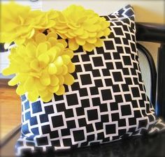 diy: cute pillow.