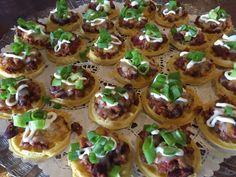Mini Chili-Cheese Waffles - Catering by Debbi Covington - Beaufort, SC