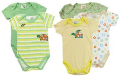 Amazon.com: Affection Baby Clothing 2014-2015 Bodysuits 5 pack: Clothing