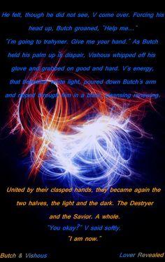 Butch Vishous BDB Black Dagger Brotherhood - one of my fav scenes in the series!!