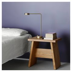 styletaboo:  David Chipperfield - Langley stool for e15 [walnut, 2015]