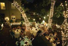 Wedding  Evening at Austin's Inn at Pearl Stret