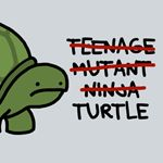 If this turtle were smiling, this would be my party favor!!
