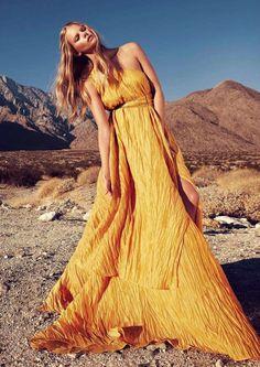 "Marloes Horst in ""Wanderlust"" by Will Davidson for Harper's Bazaar Australia March 2012"
