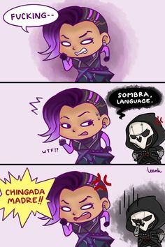Reaper and Sombra