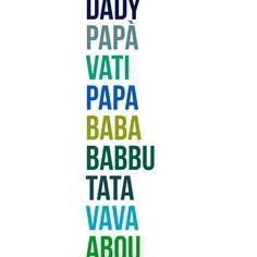 A TOUS LES PAPAS DU MONDE  #fetedesperes #apointun #monde #allovertheworld #amour #colors #unit #fete #papa #dady #vati #baba #babbu #tata #vava #abou #bestdad #familytime #thebestfamily