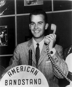 "Rock and Roll Music.  Cultural icon and ""forever young"" Dick Clark hosted American Bandstand for 90 minutes every weekday afternoon until the show was trimmed to 60 minutes in 1961. The popular dance when he began was ""The Chicken."""