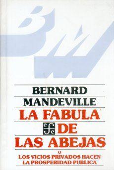 Mandeville, La fábula de las abejas