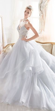 Nicole was born in 1996, but the passion for the bridal dress is part of a family tradition. A gorgeous, romantic collection of dresses. Satin, lace and sparkle feature throughout, with a mixtures of styles designed ... #laceweddingdresses
