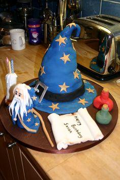 Rosie's Cakes: Wizard Cake