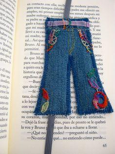 blue jean bookmark Originals bookmarks to sales visit me http://handmadewithlovebybella.jimdo.com facebook: handmadewithlovebybella,  I´m Bella Milene please pin me!!