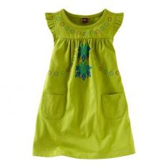 King Protea Mini Dress | Tea Collection cider South Africa $19.50 size 3