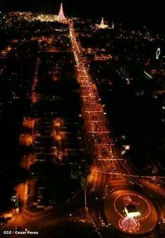 Managua de noche