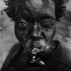 by Lee Jeffries -> Lee Jeffries is a self-taught photographer who is crusading to bring attention to the plight of the homeless.