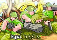 Empieza manejando a un soldado y trata de eliminar a todos los enemigos que se te acerquen. http://www.ispajuegos.com/jugar7861-Battalion-Commander.html