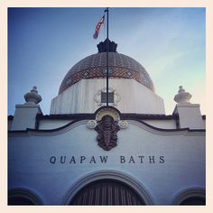 Quapaw Baths Spa - There is nothing quite like taking a bath in 4000 year old rainwater. Heavenly.