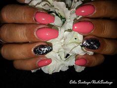 Diário Feminino: Unhas de Gel | Trabalho de Nails Santiago #3