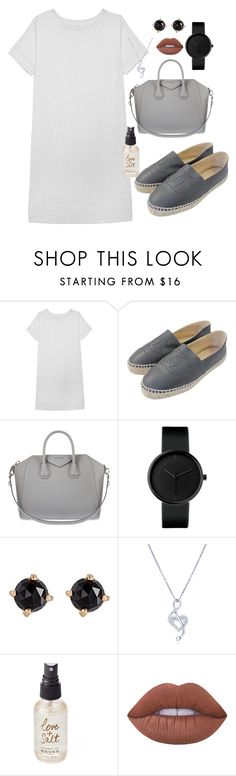 """S3"" by cid-paradero on Polyvore featuring Olive + Oak, Chanel, Givenchy, Irene Neuwirth, BERRICLE, Olivine and Lime Crime"