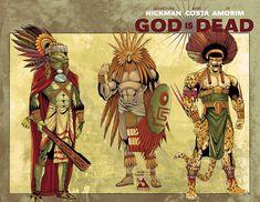 DIOSES AZTECAS QUE CREARON EL MUNDO