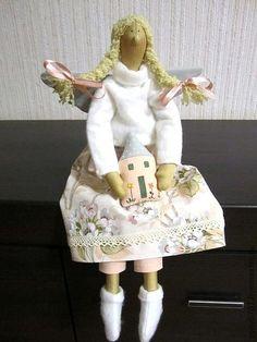 Куклы Тильды ручной работы. Ярмарка Мастеров - ручная работа Феечка Мия. Handmade.
