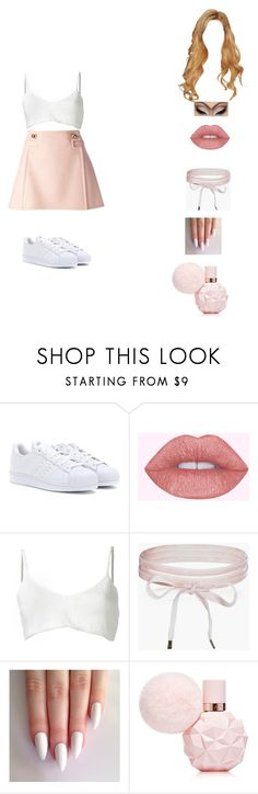 """sweet like candy but he's such a man"" by unicorn-923 ❤ liked on Polyvore featuring adidas, Area Di Barbara Bologna, Boohoo and Frankie Morello"