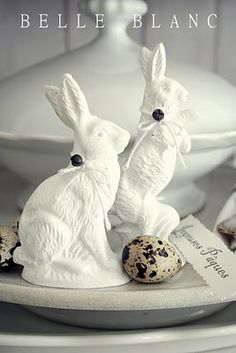 Easter Decor * from BELLE BLANC
