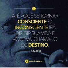 Carl Gustav Jung–Frases 130 frases de Jung. Frases junguianas sobre psicologia, religião, amor, inconsciente, neuroses, espiritualidade, UFOs, ego, Freud e