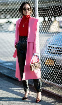 a742800a2830 Today we are dispelling the fashion myth that red and pink can t be worn  together. There are so many ways to style red and pink outfits   I ll show  you how!