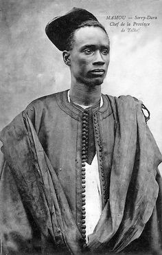 Africa | Sorry-Dara, Chief of the Telko Province. Mamou. Guinea (French Guinea) || Scanned vintage postcard; dated 1916