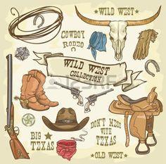 saloon western: Collection Wild West