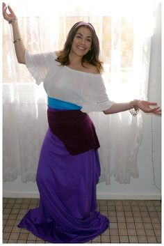 500 best theme me images on pinterest costume ideas home made and esmeralda from disneys the hunchback of notre dame costume for halloween costumes for halloweendiy solutioingenieria Images