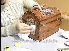 Tv Transamérica - Artesanato Bau em imitação de couro 2 - YouTube