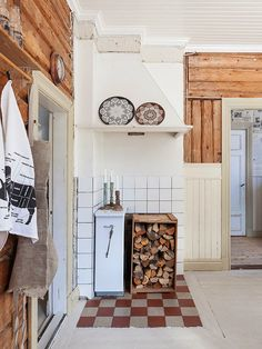 Simply Swedish  Pretty kitchen with light and wood