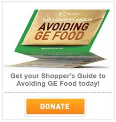 EWG's 2014 Shopper's Guide To Avoiding GE Food | Environmental Working Group (Wish there was a better picture to go with this...oh well.)