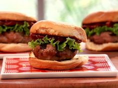 Adding ricotta cheese to a turkey burger mixture helps keep it moist and flavorful, like in these Grilled Turkey Sliders with Tomato Jam.