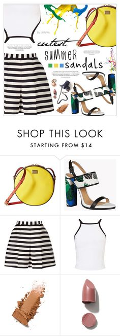 """The Cutest Summer Sandals"" by befunky ❤ liked on Polyvore featuring Dolce&Gabbana, Dsquared2, Reiss and Miss Selfridge"