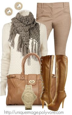 """Fall Outfit"" by uniqueimage ❤ liked on Polyvore"