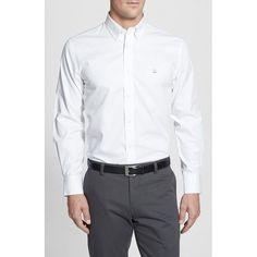Smartcare™ Traditional Fit Twill Boat Shirt (Regular & Tall)