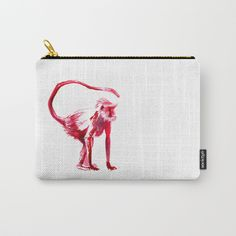 Buy Clever Monkey Carry-All Pouch by lostmarketplace. Worldwide shipping available at Society6.com. Just one of millions of high quality products available.