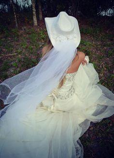 Western wedding-cowgirl wedding-white cowgirl by MorganTheCreator