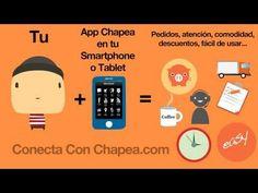 Explicación en video sobre el funcionamiento y ventajas de la aplicación para moviles y tablets de Chapea.com