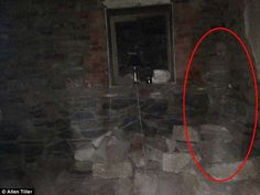The team believes they captured this outline of a male ghost in the basement of the North Kapunda Hotel. This particular hotel in South Australia is infamous for its ghostly activity.